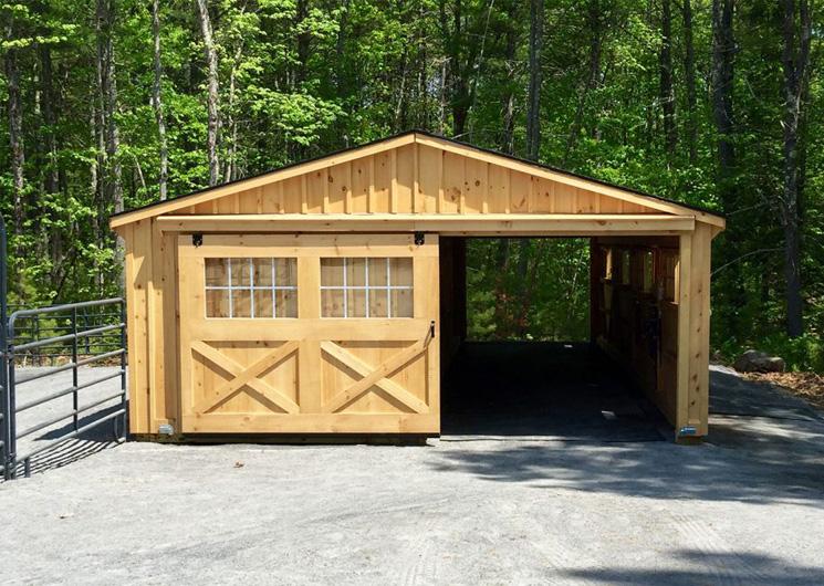 Single Story Horse Barn