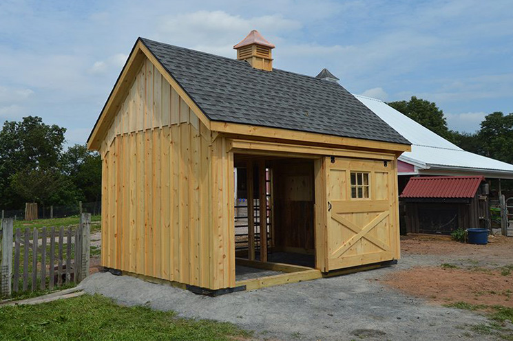 Smallest Horse Barn for Sale