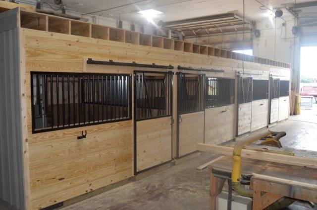 36'x48' Modular Barn Cochranville, PA