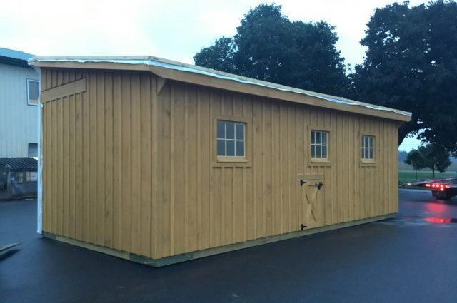 Amish Built Modular Barn in Madison, New Hampshire