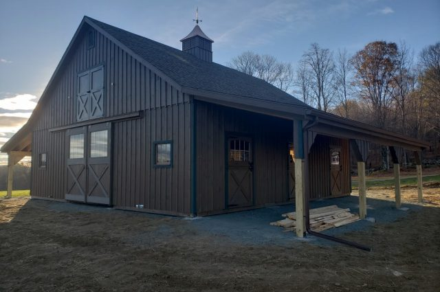 Amish Modular Barns in Vermont