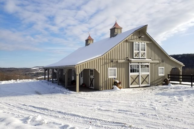Modular Barn – Binghamton, NY