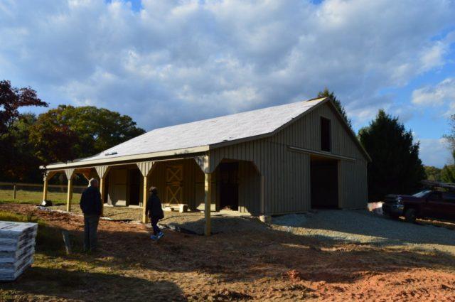Cochranville, PA 36'x48' Modular Barn