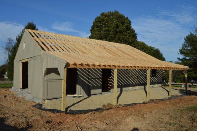 Cochranville, PA Modular Amish Barn