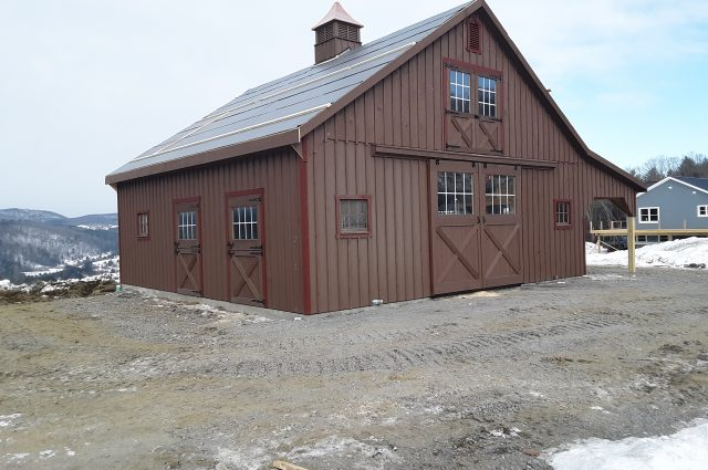 Modular Barn – South Royalton, VT