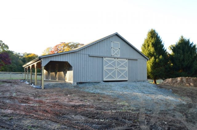 Large Modular Barn Cochranville, PA
