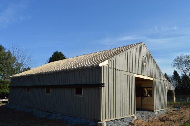 Modular Amish Barn Cochranville, PA