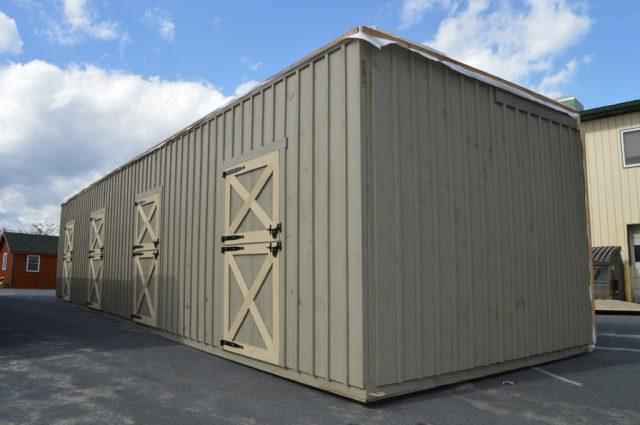Modular Barn Amish Builder Cochranville, PA