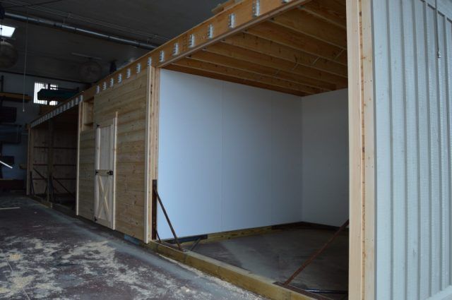 Modular Barn with Lean to Cochranville, PA
