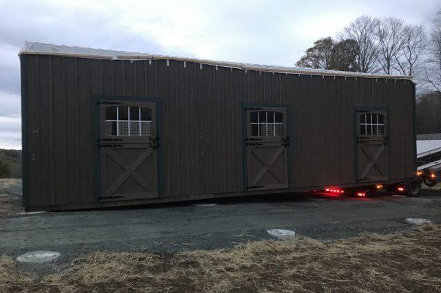 Modular Horse Barn Builder in Hartland, Vermont