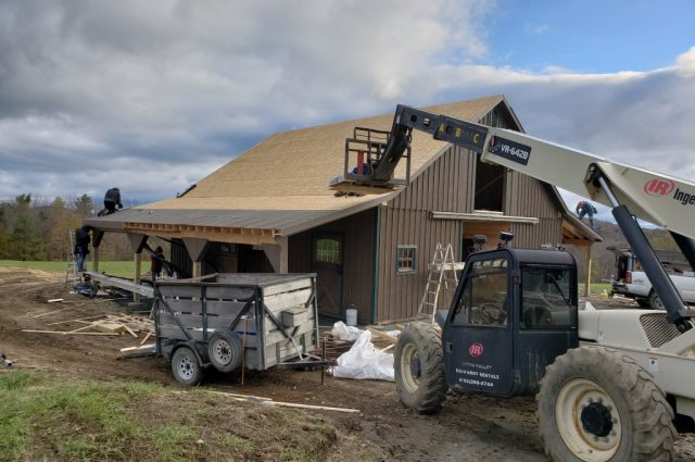 Modular Horse Barn Builder in Hartland, VT