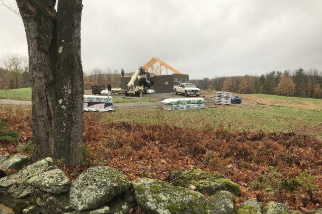 Modular Horse Barn in Hartland, Vermont