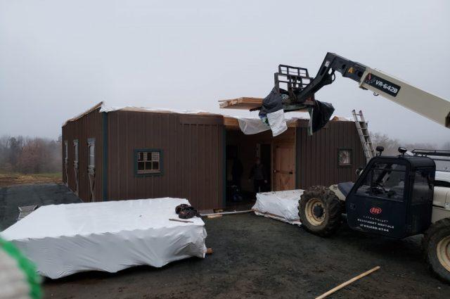 Modular Horse Barn in Hartland, VT