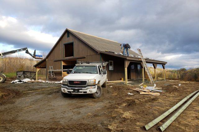 Modular Horse Barns in Hartland, VT