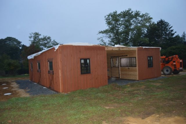 Red Bank, NJ 36'x36' modular barn