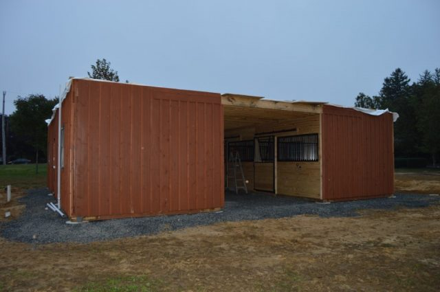 Red Bank, NJ modular horse barn