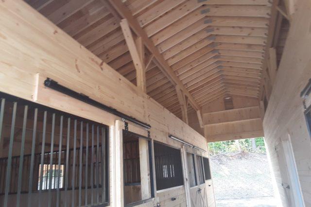 Stowe, Vermont modular barns