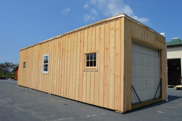Stowe, Vermont wooden modular horse barn