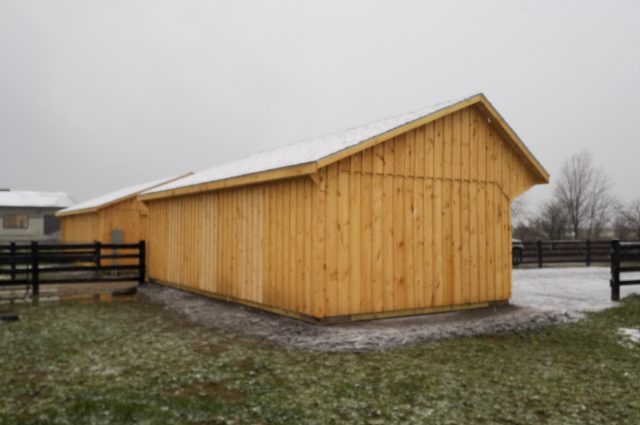 wood barn exterior