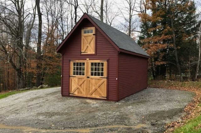 White River Series Shed – Jeffersonville, VT