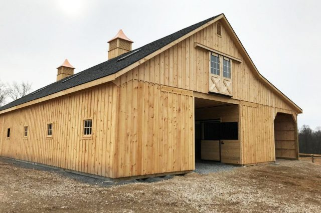 Large Horse Barns: Designs & Benefits