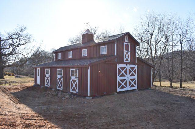 Modular Barn – Marshall, VA
