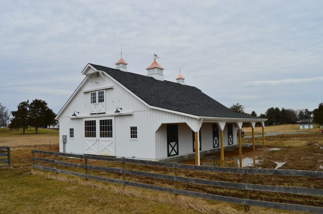 Modular Barn – Warrenton, VA