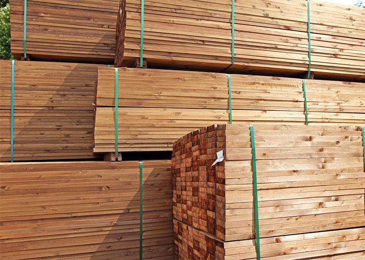 Equine barn kit lumber