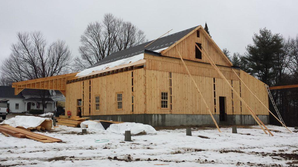 Horse barn design in Maine
