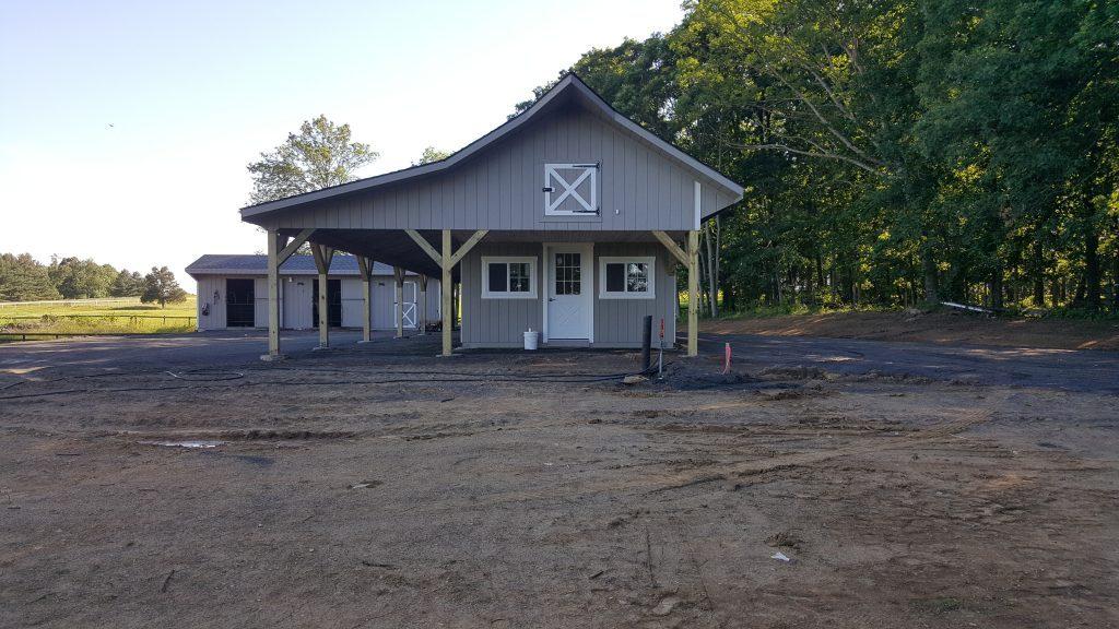 Horse barn in Purcellville, Virginia