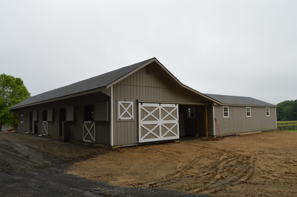 VA small horse barn idea