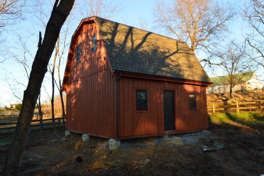 Small barn designed and built in Maryland