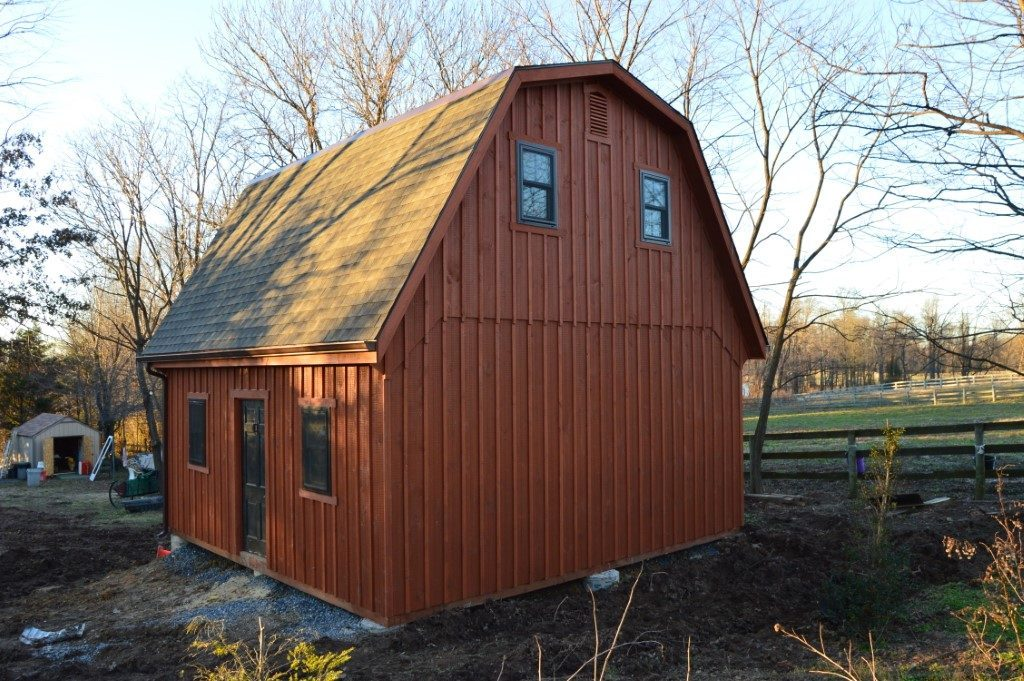 Maryland horse barn design