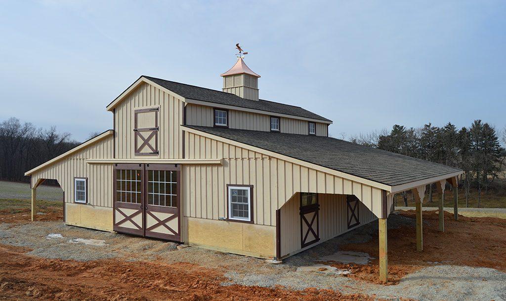 Unique horse barn designed in Pennsylvania