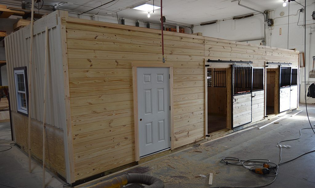 Interior design for horse barns in PA