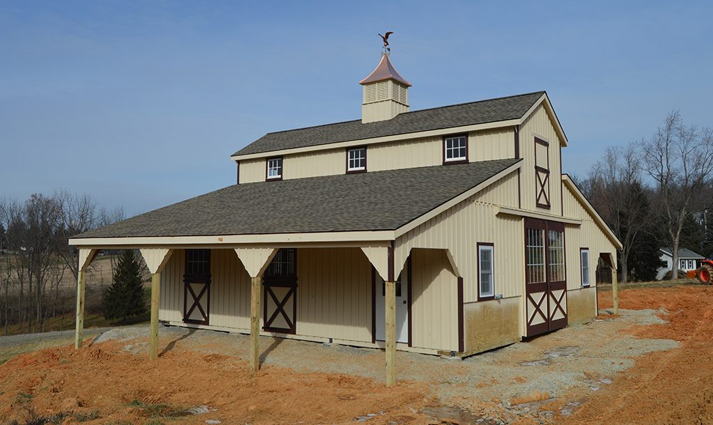 Horse barn designed and built in PA