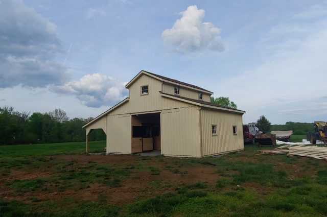 Modular Barn – Bluemont, VA