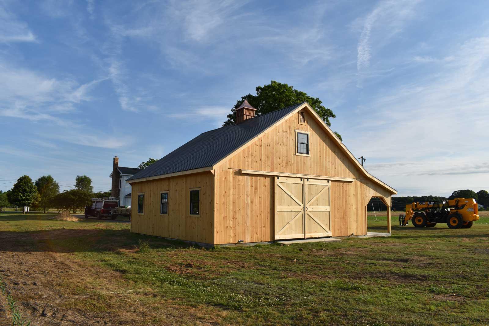 Modular Barn Woodland Nc J Amp N Structures