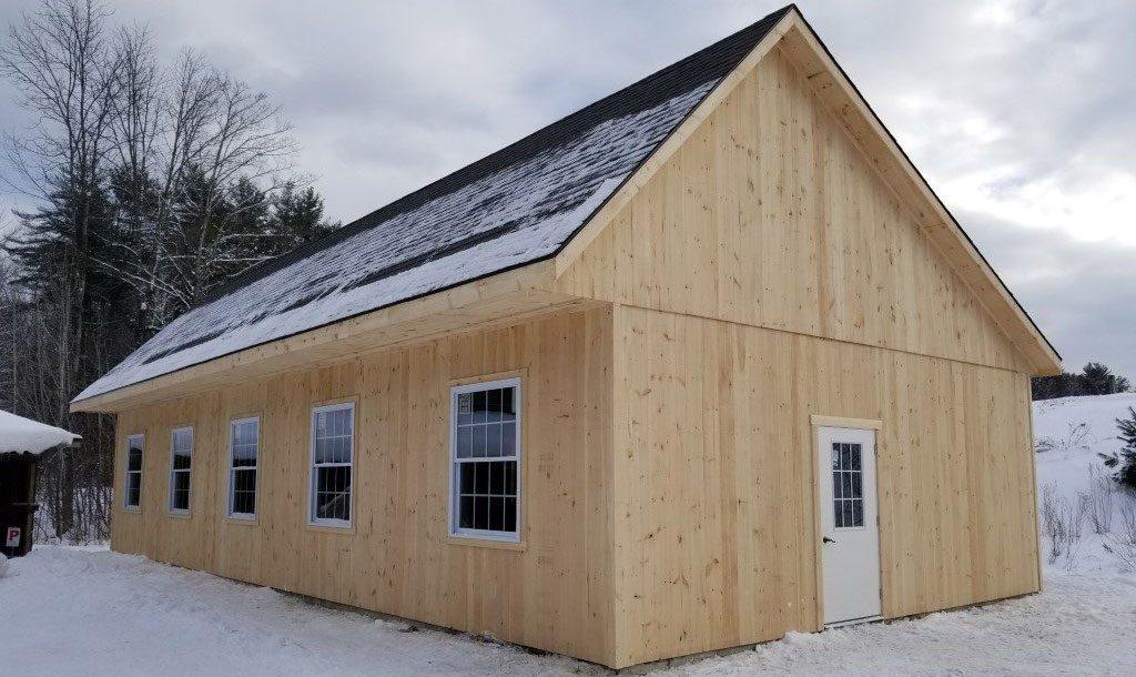 Custom horse barn style designed by J&N