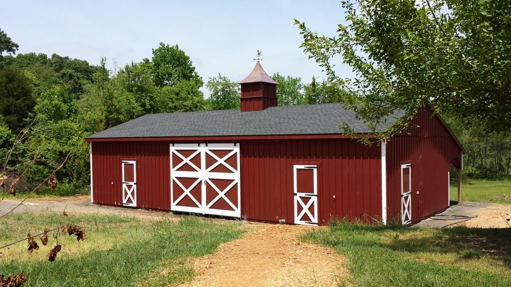 Prefabricated small barn