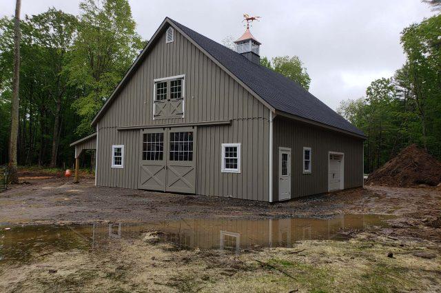 Modular Barn – Rye, NH