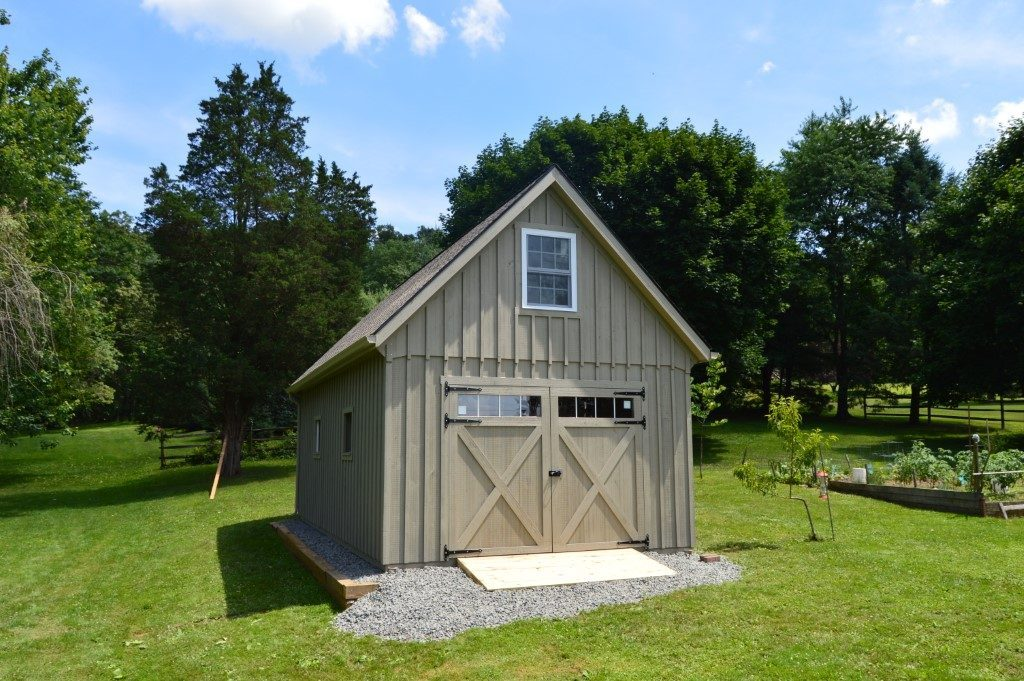 Prefabricated shed built by J&N