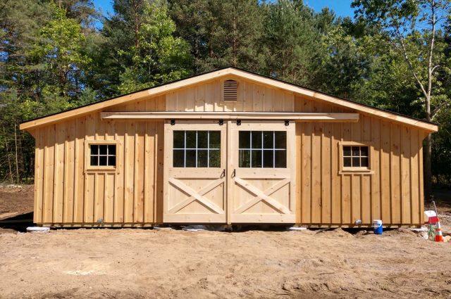 Modular Barn – Boxford, MA