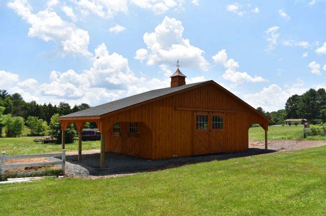 Modular Barn – Nokesville, VA