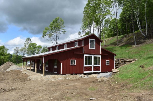 Modular Barn – South Woodstock, VT