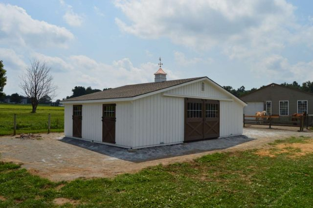 36'x24' horse barn in Cochranville PA