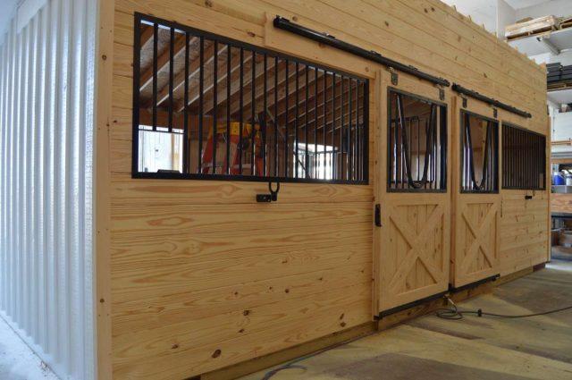 modular barn interior Cochranville pa