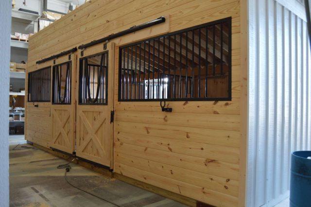 modular horse barn interior Cochranville pa