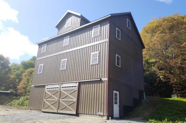 3-Story Garage - Washington, Vermont