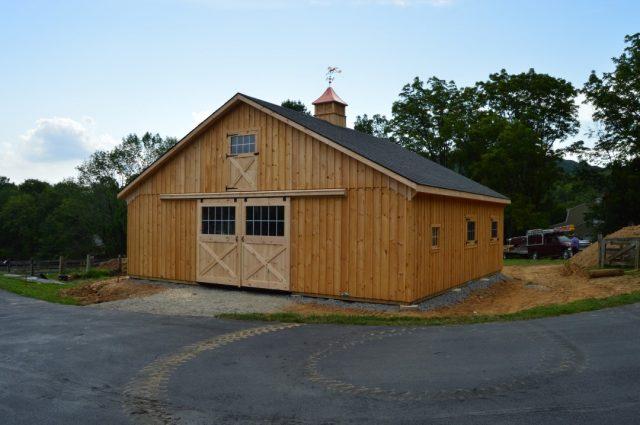 Modular Barn – Califon, NJ